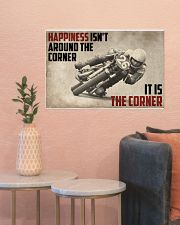 Motorcycles Happiness 24x16 Poster poster-landscape-24x16-lifestyle-22