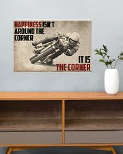 Motorcycles Happiness 24x16 Poster poster-landscape-24x16-lifestyle-25