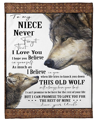 Uncle To Niece Always Have Your Back Wolf