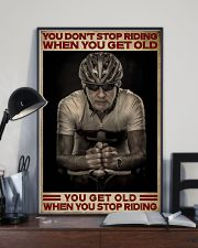 When You Stop Riding Cycling 16x24 Poster lifestyle-poster-2