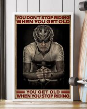 When You Stop Riding Cycling 16x24 Poster lifestyle-poster-4