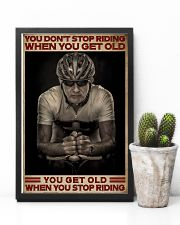 When You Stop Riding Cycling 16x24 Poster lifestyle-poster-8