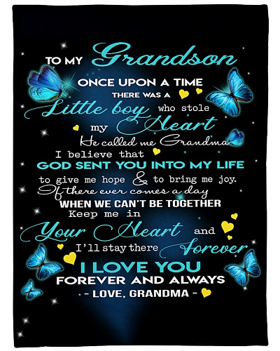 Grandma To Grandson Keep Me In You Heart Butterfly