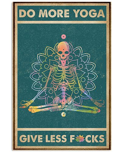 Do More Yoga Give Less