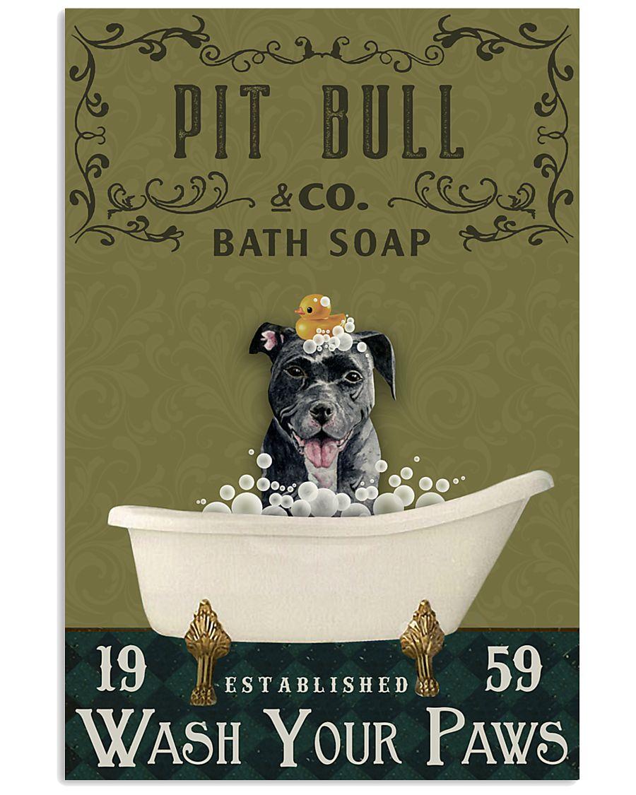 Olive Bath Soap Company Pit Bull 11x17 Poster