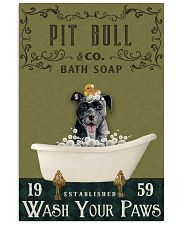 Olive Bath Soap Company Pit Bull 11x17 Poster front