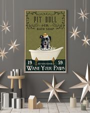 Olive Bath Soap Company Pit Bull 11x17 Poster lifestyle-holiday-poster-1