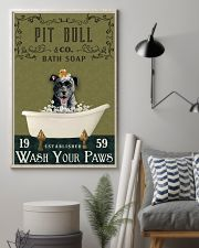 Olive Bath Soap Company Pit Bull 11x17 Poster lifestyle-poster-1