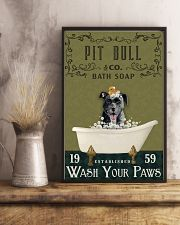 Olive Bath Soap Company Pit Bull 11x17 Poster lifestyle-poster-3