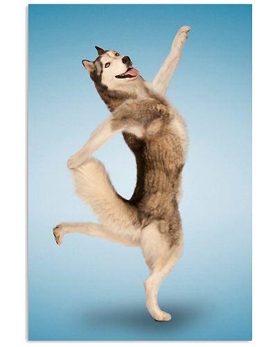 Yoga Pose Husky