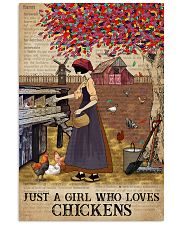 Dictionary Who loves Chicken Farm Girl 11x17 Poster front