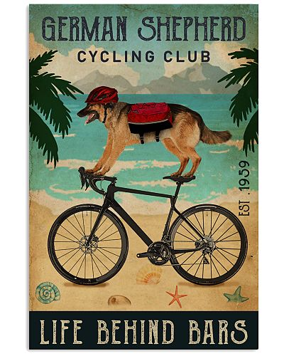 Cycling Club German Shepherd