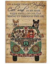 Music Sheet Cool Wind Corgi 11x17 Poster front