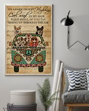 Music Sheet Cool Wind Corgi 11x17 Poster lifestyle-poster-1