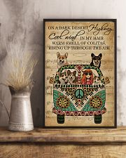 Music Sheet Cool Wind Corgi 11x17 Poster lifestyle-poster-3
