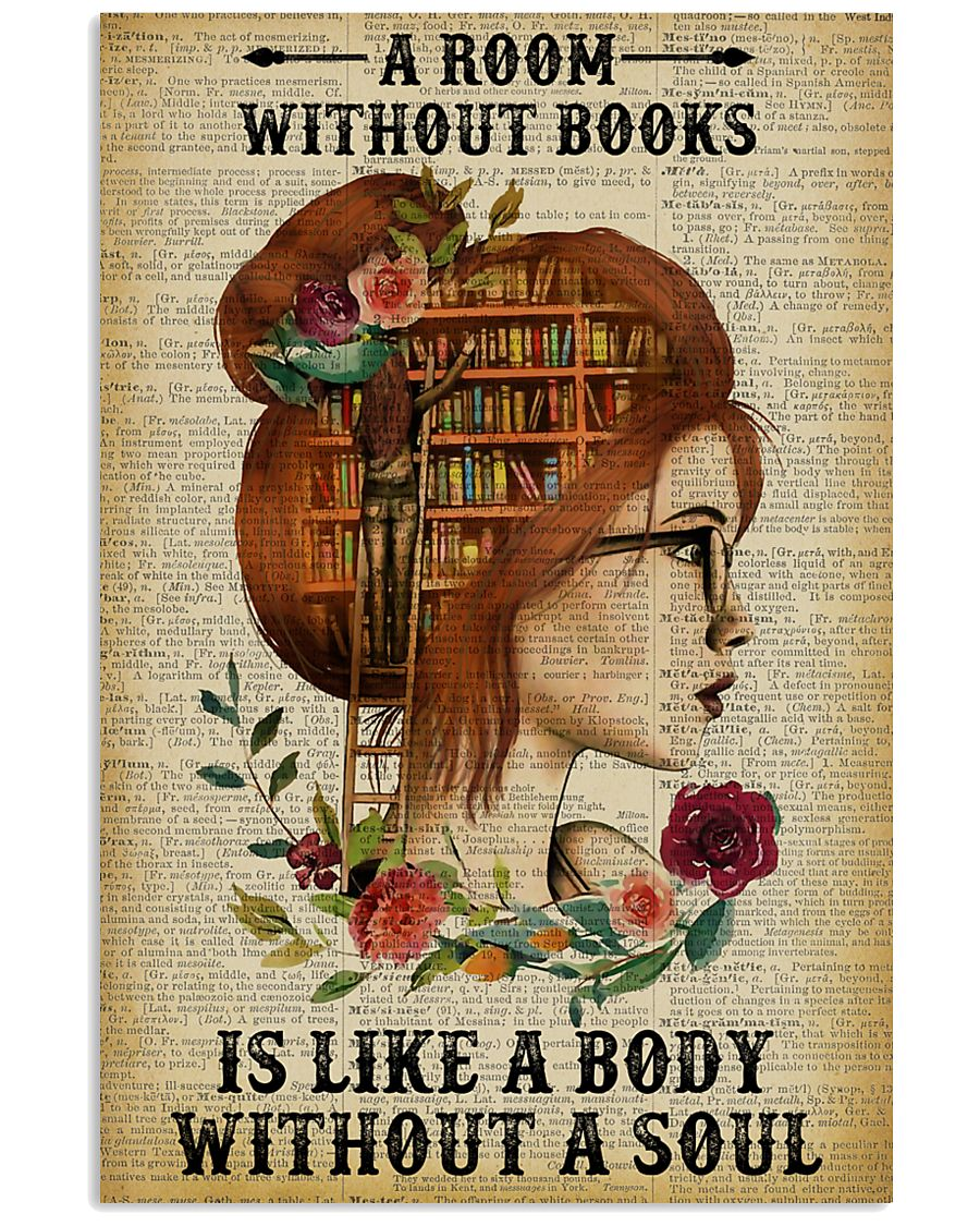 A Room Without Books Reading Redhead 11x17 Poster