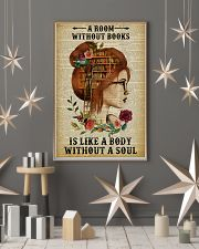 A Room Without Books Reading Redhead 11x17 Poster lifestyle-holiday-poster-1