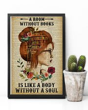 A Room Without Books Reading Redhead 11x17 Poster lifestyle-poster-8