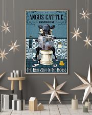 Reading News Restroom Angus cattle 11x17 Poster lifestyle-holiday-poster-1