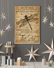Music Sheet Sing Me A Song Dragonfly 11x17 Poster lifestyle-holiday-poster-1