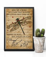 Music Sheet Sing Me A Song Dragonfly 11x17 Poster lifestyle-poster-8