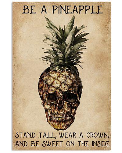 Be A Pineapple Skull