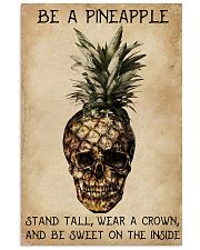 Be A Pineapple Skull 11x17 Poster front
