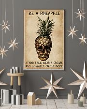 Be A Pineapple Skull 11x17 Poster lifestyle-holiday-poster-1