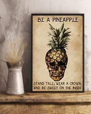 Be A Pineapple Skull 11x17 Poster lifestyle-poster-3