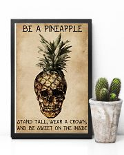 Be A Pineapple Skull 11x17 Poster lifestyle-poster-8
