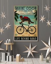 Cycling Club Maine Coon 11x17 Poster lifestyle-holiday-poster-1