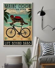 Cycling Club Maine Coon 11x17 Poster lifestyle-poster-1