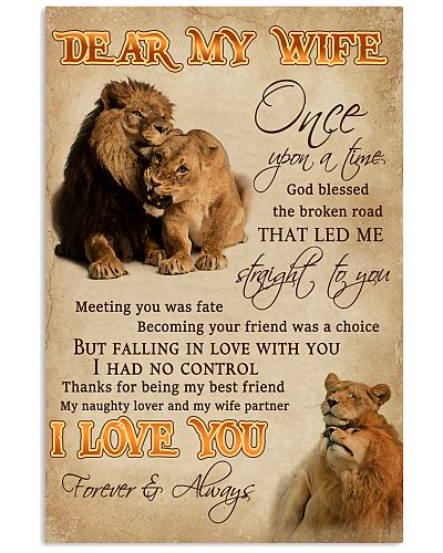 Dear My Wife Straight To You Lion