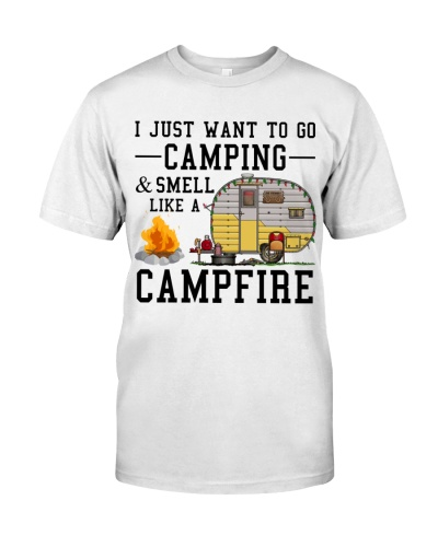 Camping Smell Like A Campfire