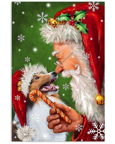 Sheltie Smile With Santa Christmas