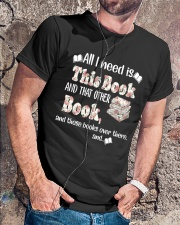 All I Need Is This Books Unisex - On Sale Classic T-Shirt lifestyle-mens-crewneck-front-4