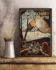 And They Lived Happily Ever After Camping 16x24 Poster lifestyle-poster-3