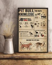 Pit Bull Knowledge 11x17 Poster lifestyle-poster-3