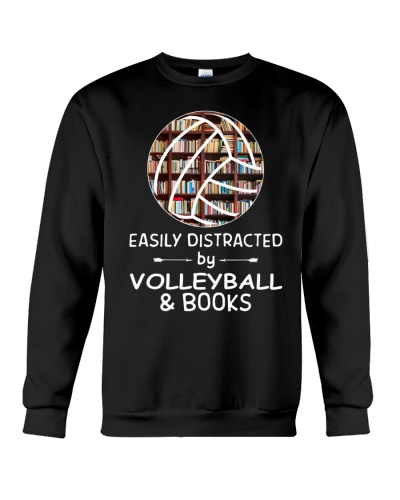 Easily Distracted By Volleyball And Books