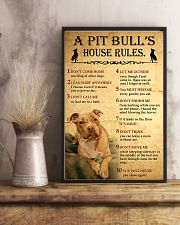 Pit bull House Rules 11x17 Poster lifestyle-poster-3