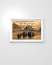 Angus Cattle Let The Gate Open 24x16 Poster poster-landscape-24x16-lifestyle-02