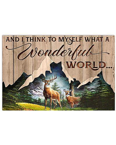 Deer Hunting What A Wonderful World
