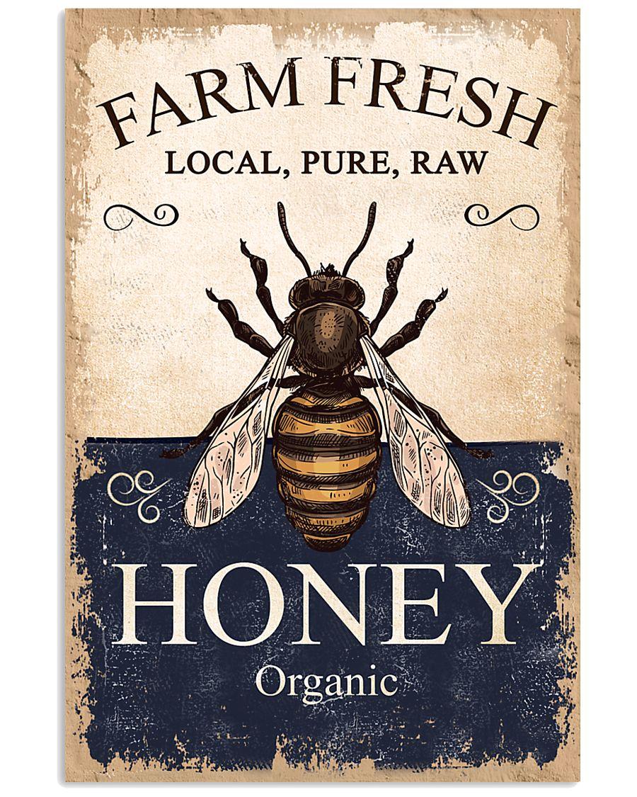 Farm Fresh Honey Bee 11x17 Poster