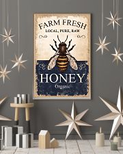 Farm Fresh Honey Bee 11x17 Poster lifestyle-holiday-poster-1