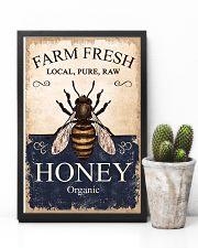 Farm Fresh Honey Bee 11x17 Poster lifestyle-poster-8