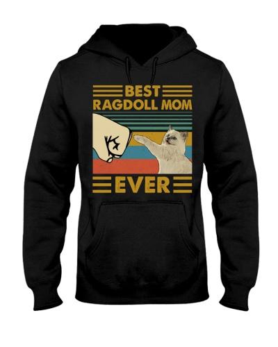 Retro Blue Best Ragdoll Mom Ever