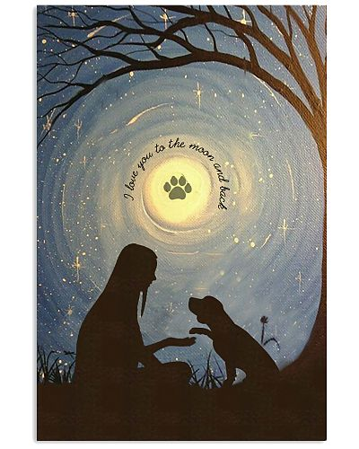 Love You To The Moon Hand Shake Beagle