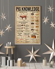 Pig Knowledge Farm 16x24 Poster lifestyle-holiday-poster-1