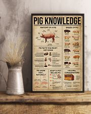 Pig Knowledge Farm 16x24 Poster lifestyle-poster-3