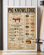 Pig Knowledge Farm 16x24 Poster lifestyle-poster-4